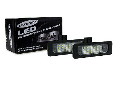 LETRONIX SMD LED Kennzeichenbeleuchtung Module Ford Mustang 2010-2014
