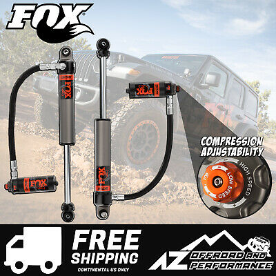 "Fox Race Series 2.5 Front Resi Shocks for 18-20 Jeep Wrangler JL w/ 0-1.5"" Lift"