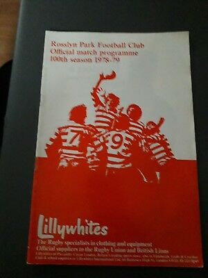 1979-Rosslyn Park V Exeter-John Player Special Cup 2Nd Round-Rugby Programme