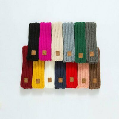 Knitted Children'S Solid Color Warm Scarf Winter Wild Children'S Wool Scarf YoML