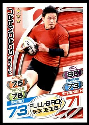 Topps Rugby Attax 2015 - Aymum Goromaru Japan No. 176