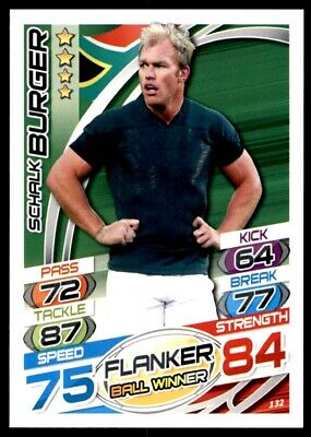 Topps Rugby Attax 2015 - Schalk Burger South Africa No. 132