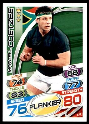 Topps Rugby Attax 2015 - Marcell Coetzee South Africa No. 133