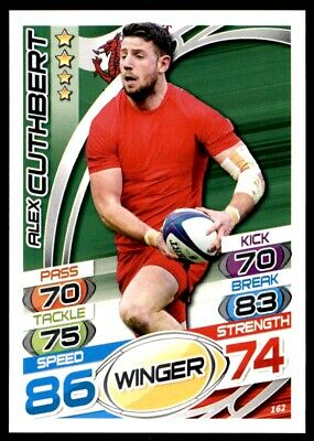 Topps Rugby Attax 2015 - Alex Cuthbert Wales No. 162