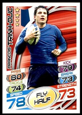 Topps Rugby Attax 2015 - Francois Trinh-Duc France No. 55