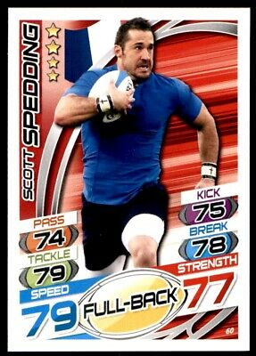 Topps Rugby Attax 2015 - Scott Spedding France No. 60