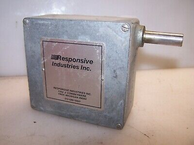 New Responsive Industries Rotary Limit Switch 44-1E-1-P-128