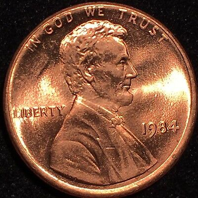 1984 Double Die Obverse Ddo Lincoln Cent Rare *** A Beauty Gorgeous Red Gem ++++