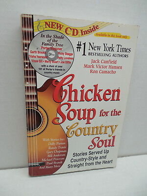 Chicken Soup For The Country Soul Book & CD Dolly Parton Randy Travis Chapman