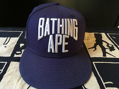 eb05bd422c7 COMES WITH TAGS   BAG BATHING APE × NEW ERA 59FIFTY Cap Hat Fitted NYC Logo