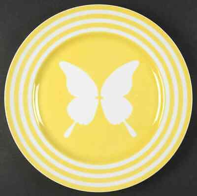 Fitz & Floyd PAPILLION-YELLOW Service Plate (Charger) 128476