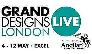 2x Adult & 2x Child ANY Weekend & Bank Holiday Tickets to GRAND DESIGNS LIVE