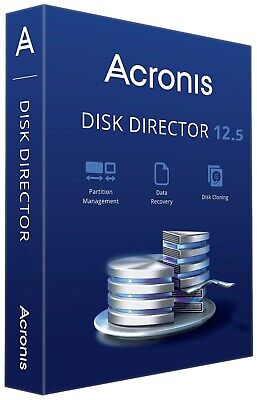 Acronis Disk Director 12.5 Lifetime 5 Pcs Data Recovery , Partition Management