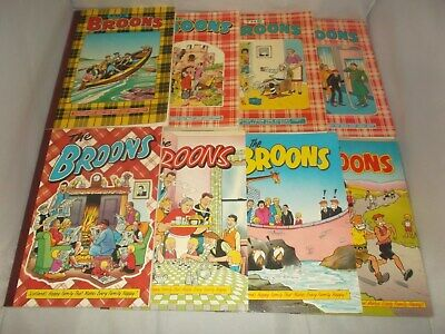 The Broons - Vintage Comic Books Collection x8