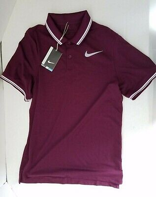 Nike Modern Fit Dri Fit Men's Golf Polo Purple 833075-609