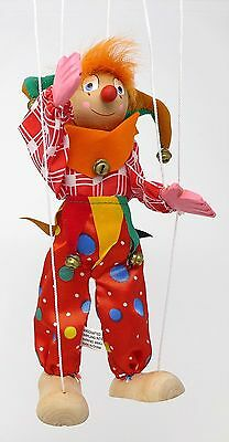 FAIRYLAND INTERNATIONAL INC Handmade Wooden Wood Marionette