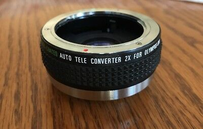 Vintage Pro Multi-Coated Auto Tele Converter 2x For Olympus-Om Camera Lens
