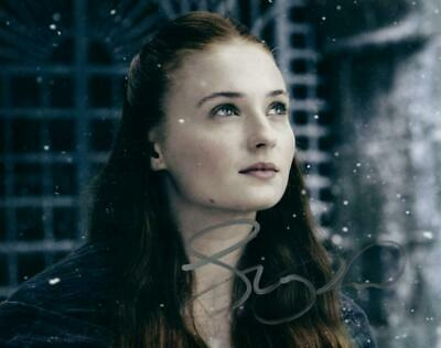 Sophie Turner Signed 8x10 Photo Picture Autographed and COA