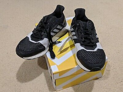 0474dfe4d1df0 BNIB ADIDAS ULTRA BOOST ST ULTRABOOST MEN sz 7 Black White Carbon Brand New
