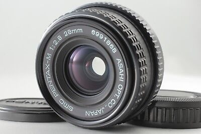 **NEAR MINT** SMC PENTAX-M 28mm f/2.8 MF Wide Angle Kmount Lens