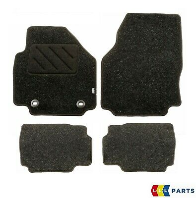 New Genuine Ford Mondeo 2007-2012 Front And Rear Black Floor Mats Set Rhd