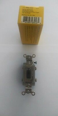 Hubbell Hbl1202 Toggle Switch 15A 120-277V (Lot Of 10) New