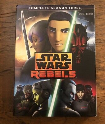 Star Wars Rebels: The Complete Season 3 [New DVD] Boxed Set W/slipcover