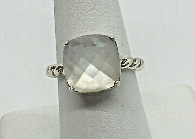 a54647d45 Authentic Pandora Sterling Silver 925 ALE Ring, MOTHER of PEARL. Size 7 1/