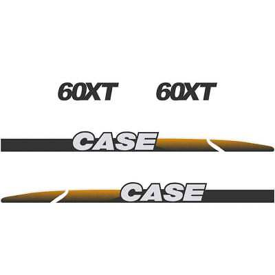 CASE 60XT Decals Stickers Skid loader Repro kit