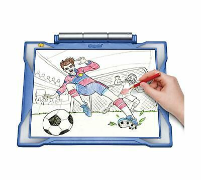 Crayola Light-Up Tracing Pad Colored Pencils Blank Sheets LED Drawing Tablet
