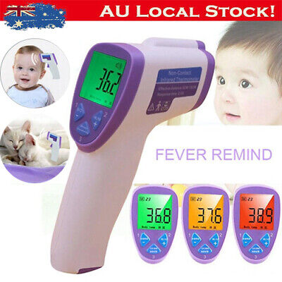 Non-Contact Infrared Body IR Thermometer Temperature Wireless Baby Temp Tester