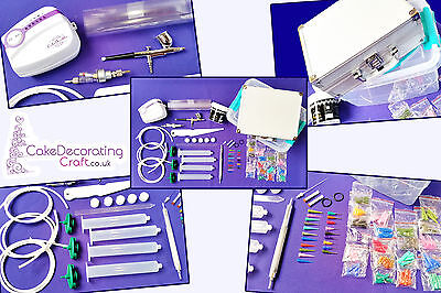 Cake Deco Pen | 2in1 Cake Decorating Kit Machine | AirBrush + Deco Pen Kit