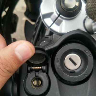 Dual USB Charger Power Adapter Waterproof DIN Plug Socket for BMW Motorcycle