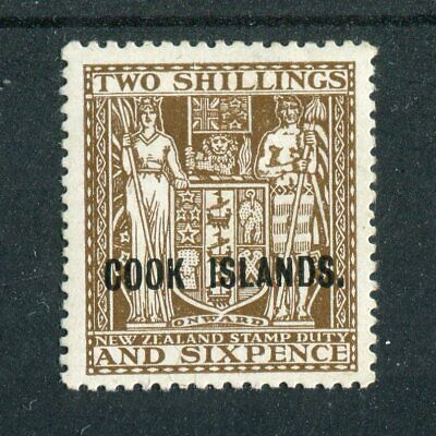 Cook Islands KGVI 1943-54 2s6d dull brown SG131 MH