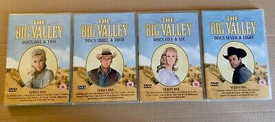 The Big Valley Complete Series / Season One DVD Box Set Region Free 0 RARE OOP