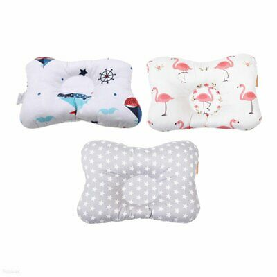 Baby Infant Pillow Newborn Anti Flat Head Syndrome Neck Support Pillow  E3