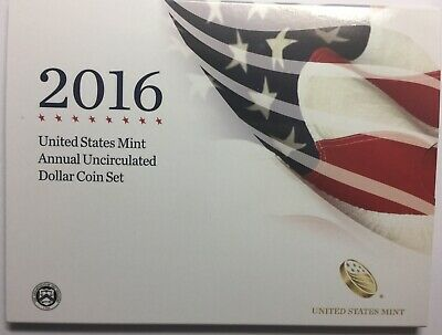 Annual Uncirculated Dollar Coin Set 2016 ((( X6=6 unopened  mint sealed sets)))