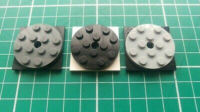 + FREE GIFT LEGO 4x4x 2/3 TOP W/ FREE SPINNING SQUARE BASE 6047/61485 NEW