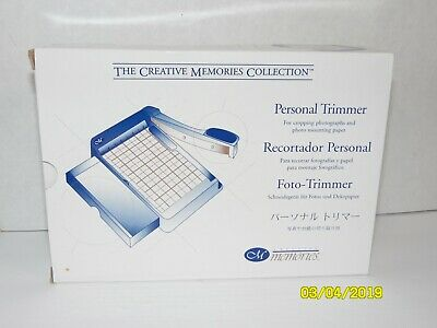 Creative Memories Personal Trimmer Photo Paper Cutter NEW Scrapbooking Crafts