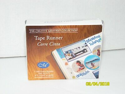 Creative Memories Tape Runner Refill 34 Feet Double Sided Adhesive Refillable