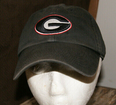 "Vtg GEORGIA BULLDOGS Fitted Hat Size S Unstructured ""The Perfect Fit"" Cap NCAA"