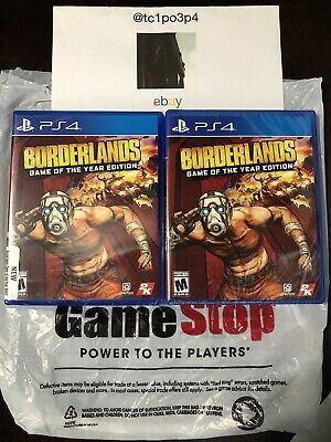 *NEW* Borderlands Game of the Year Edition PS4 2019 4K Physical Edition + 4 DLC