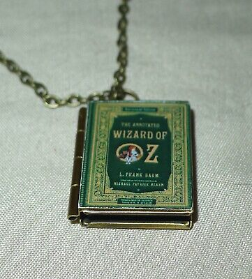 Alice Wonderland, Charlottes Web, 1984, Buffy, Frankenstein, Wilde Book Lockets