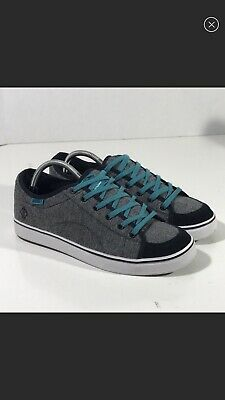 171faeb48cedf3 VANS DUSTIN DOLLIN TURQUOISE BLACK GREY SKATE SHOES WMNS SIZE 11   Men s SZ