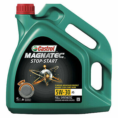 Castrol Magnatec Stop-Start 5W-30 A5 4L Full Synthetic Engine Oil Protect