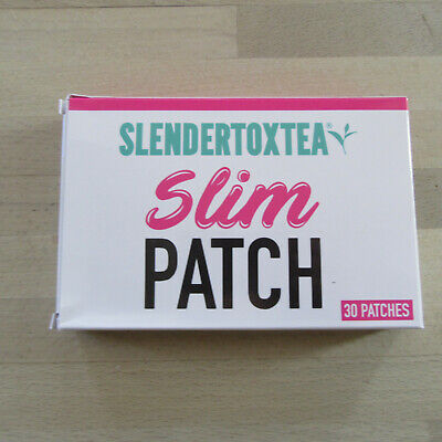 Slendertoxtea - Slimming Patches - Assists Weightloss - 30 Patches Box.