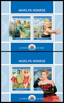 TOGO 2018 MNH (No.1) Marilyn Monroe Cinema Kino Music 2S/S #425c B