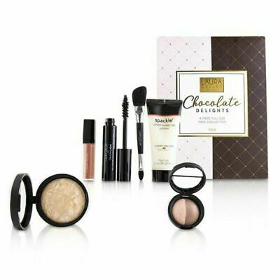 Laura Geller Chocolate Delights 6 Piece Full Size Face Collection - #Fair 6pcs
