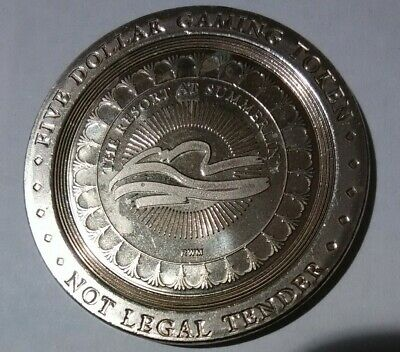 Summerlin Resort Casino Las Vegas, Nevada $5.00 Logo Token Great For Collection!