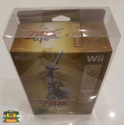 1X Boitier De Protection 0,4 Transparent Pvc Pour Wii Skyward Sword